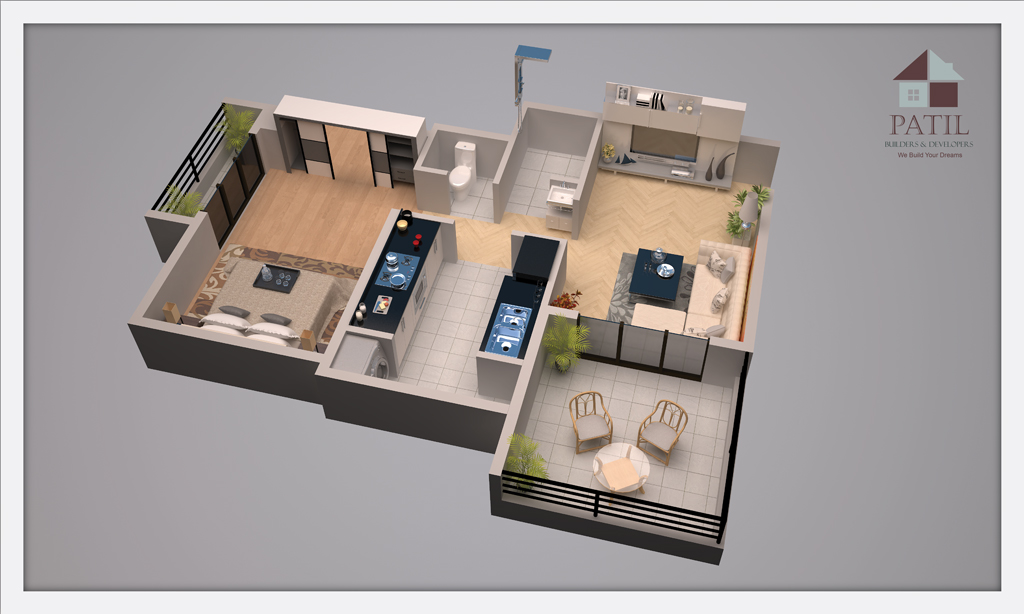 patil_developer_1BHK-plan
